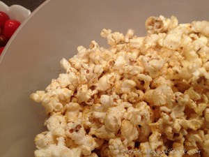 Photo of yummy popcorn
