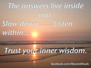 pic of ocean sunset with quote