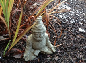 Photo of my Om Gnome Statue